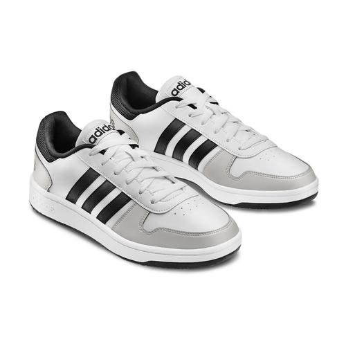Adidas Hoops da uomo adidas, bianco, 801-1553 - 16