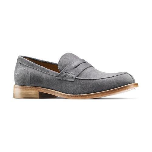 Mocassini in pelle scamosciata bata-the-shoemaker, 813-2116 - 13
