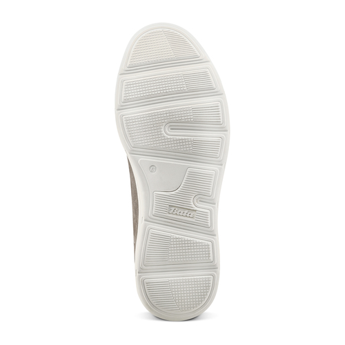 Sneakers in nabuk da uomo bata, beige, 846-2183 - 19
