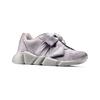 Sneakers con lacci in satin bata, grigio, 549-1202 - 13