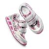 Sneakers con luci da bambina mini-b, grigio, 221-2194 - 19