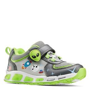 Sneakers da bambino con luci mini-b, 211-2102 - 13