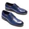 Derby da uomo in vera pelle bata-the-shoemaker, blu, 824-9332 - 26