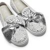Slip on con fiocchi mini-b, argento, 329-1337 - 26
