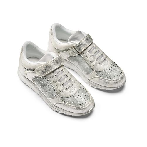 Sneakers da bimba mini-b, argento, 329-1348 - 16