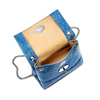 Minibag in pelle bata, blu, 964-9239 - 16