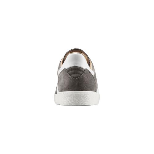 Sneakers da uomo atletico, grigio, 843-2157 - 16