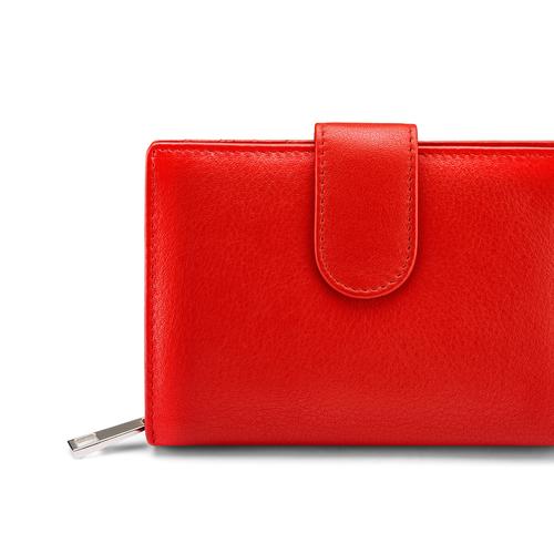 Portafoglio da donna bata, rosso, 944-5117 - 17