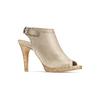 Sandali con tacco alto bata, beige, 724-2187 - 13