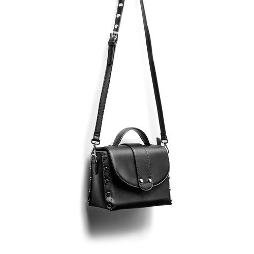 Minibag a tracolla bata, nero, 961-6316 - 17