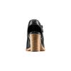 Sandali con zip bata, nero, 721-6254 - 15