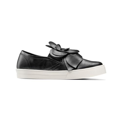 Sneakers con applicazioni bata, nero, 541-6381 - 13