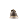 Derby in pelle scamosciata bata-light, grigio, 823-2284 - 15
