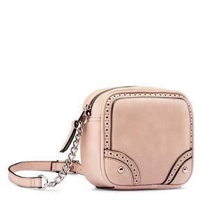 Tracolla con trafori bata, rosa, 961-5248 - 13