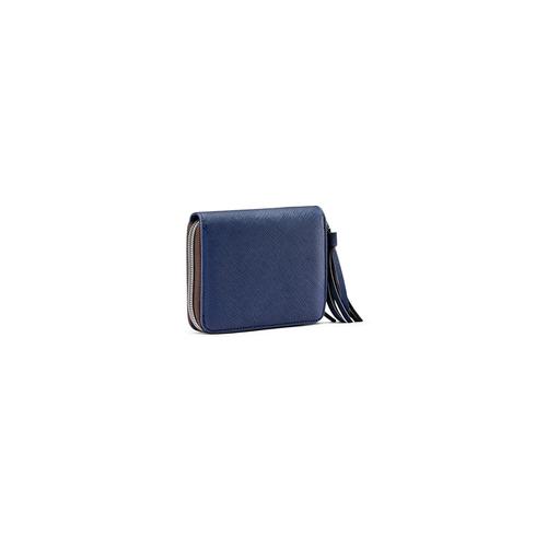 Portafoglio piccolo da donna bata, blu, 941-9172 - 13