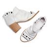 Sandali con effetto arricciato bata, 724-2192 - 26