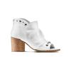 Sandali con effetto arricciato bata, grigio, 724-2192 - 13