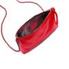 Tracolla in vera pelle bata, rosso, 964-5252 - 16