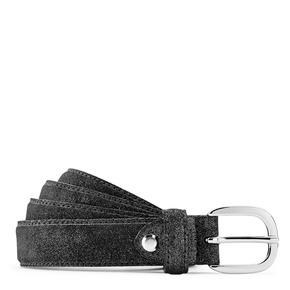 Cintura in vera pelle bata, nero, 954-6131 - 13
