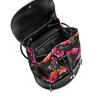 Zaino con stampa floreale bata, nero, 969-6308 - 16