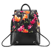 Zaino con stampa floreale bata, nero, 969-6308 - 26