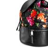 Zaino con stampa floreale bata, nero, 969-6308 - 15