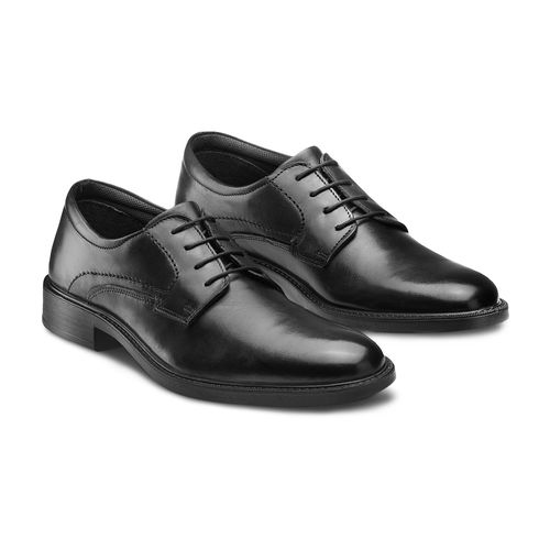 Derby in pelle, nero, 824-6248 - 16