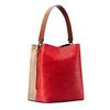 Borsa bicolore bata, rosso, 961-5173 - 13