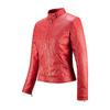 Giacca rossa con trafori bata, rosso, 971-5202 - 16