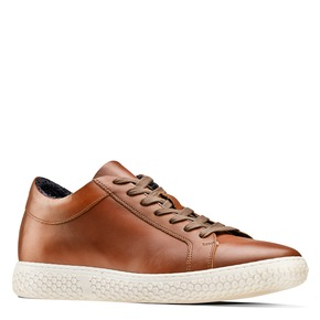 Sneakers da uomo bata, marrone, 844-3137 - 13