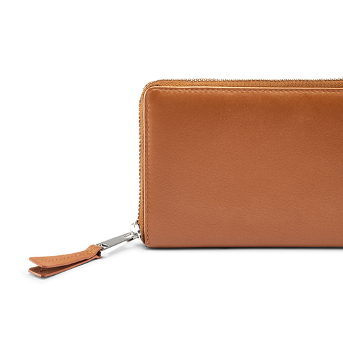 Portafoglio in vera pelle bata, marrone, 944-3120 - 15