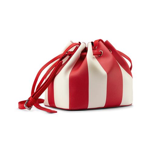 Borsa a secchiello bata, rosso, 961-5390 - 13
