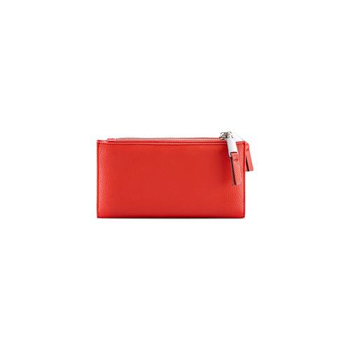 Portafoglio da donna bata, rosso, 941-5168 - 26