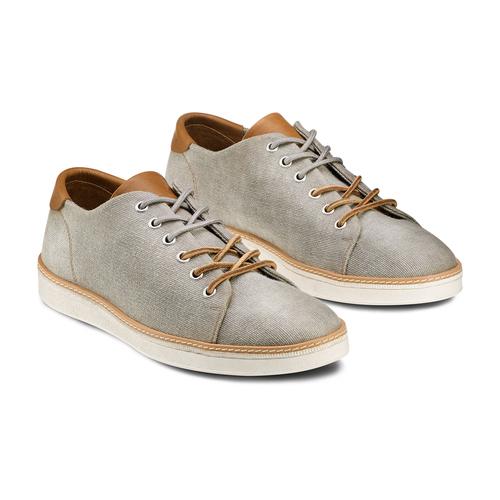 Sneakers casual  bata, grigio, 849-2346 - 16