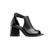 Sandali in pelle bata, nero, 724-6297 - 13