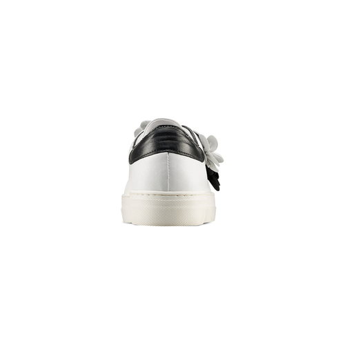 Sneakers senza lacci bata, bianco, 544-1374 - 15