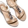 Sandali con tacco basso insolia, beige, 661-8131 - 26