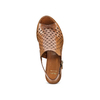Sandali in pelle  bata, marrone, 764-3161 - 17
