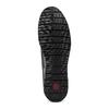 Stringate casual bata-comfit, nero, 854-6115 - 19