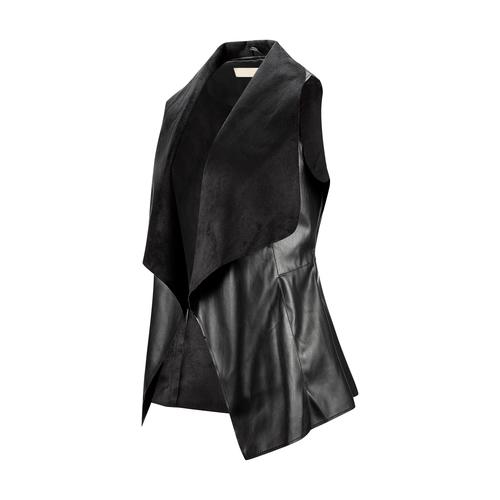 Gilet asimmetrico bata, nero, 971-6208 - 16