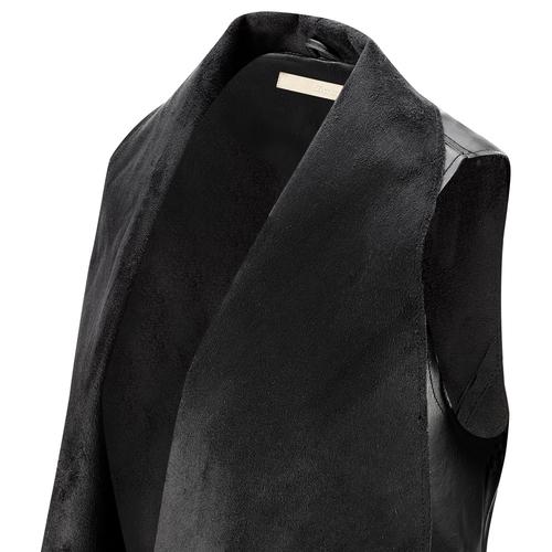 Gilet asimmetrico bata, nero, 971-6208 - 15