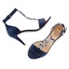 Sandali Celine  insolia, blu, 769-9154 - 26