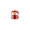 Sandali con tacco basso insolia, rosso, 669-5297 - 15