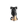 Sandali con fiocco insolia, nero, 769-6285 - 15