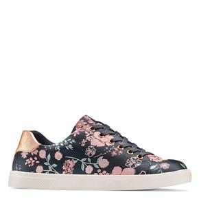 Sneakers floreali bata-rl, blu, 529-9322 - 13