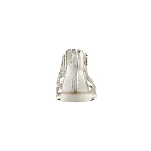 Sandali in suede mini-b, argento, 363-1247 - 15