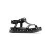 Sandali da bambina mini-b, nero, 361-6237 - 13