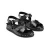 Sandali con borchie bata, nero, 561-6368 - 16