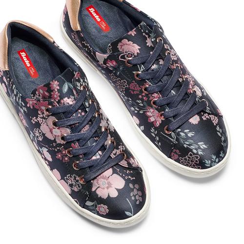 Sneakers floreali bata-rl, blu, 529-9322 - 26