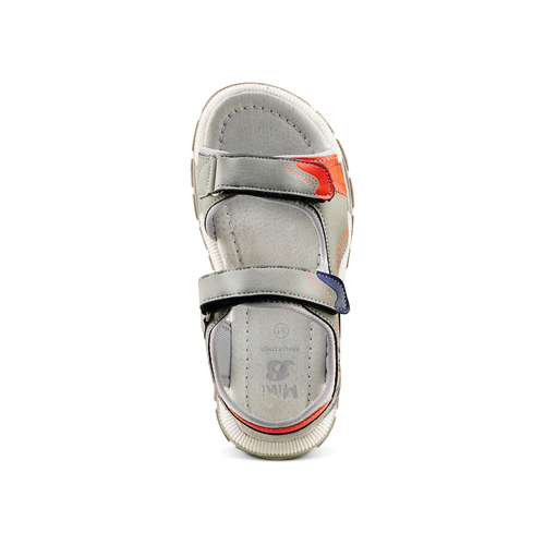 Sandali da bimbo mini-b, grigio, 361-2239 - 17